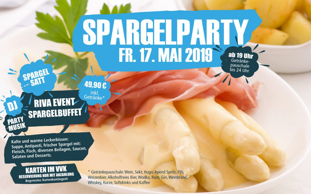 Spargelparty 17. Mai 2019